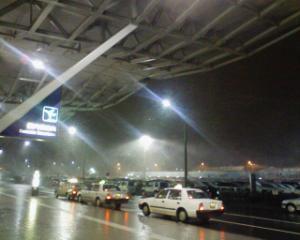 新潟空港は大荒れで欠航に!