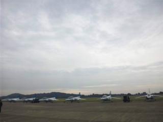 岐阜基地航空祭にきています