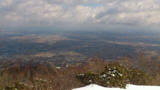 養老山は雪山でした