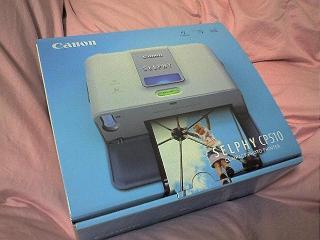 使えないCANON SELPHY CP510