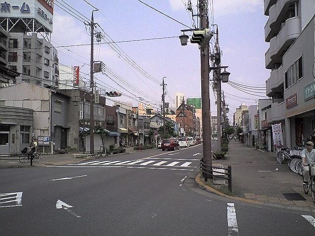 BD-1で佐屋街道を走る